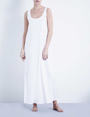 Hanro Deluxe cotton-jersey night dress