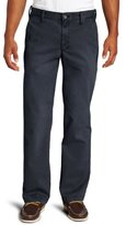 Haggar Men's Life Khaki Sand-Washed Straight-Fit Chino Pant