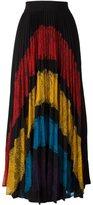 Alice + Olivia Alice+Olivia 'Romona' lace pleated skirt