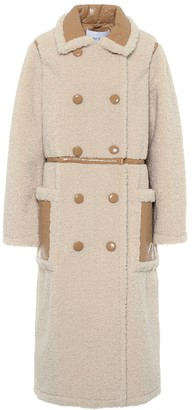 Stand Studio Morgan faux-shearling coat