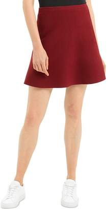Theory Lotamee Cashmere Knit Mini Skirt