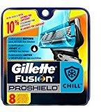 Gillette Fusion ProShield Chill Men's Razor Blade Refills, 8 Count