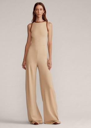 Ralph Lauren Wool Sleeveless Jumpsuit