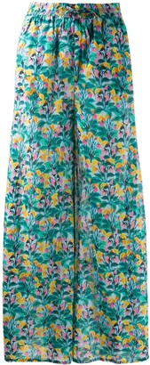Dvf Diane Von Furstenberg x Onia Chloe floral-print trousers