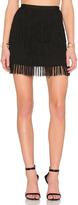 Maison Scotch Fringe Skirt