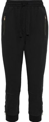 Haider Ackermann Zip-detailed French Terry Track Pants