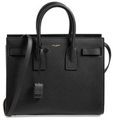 Saint Laurent 'Small Sac De Jour' Grained Leather Tote - Black