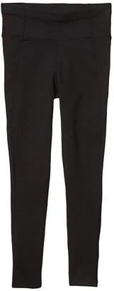 Pact Organic Cotton High-Waist Leggings (Black) Women's Casual Pants