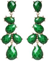 Amrita Singh Evergreen & Goldtone Sunset Drop Earrings
