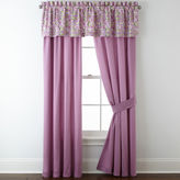 Asstd National Brand Roselle Lilac 2-Pack Curtain Panels