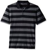 Nautica Men's Classic Fit Striped Pique Polo Shirt