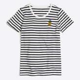 J.Crew Factory Pineapple stripe collector T-shirt