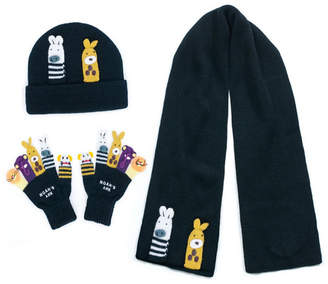 Kidorable Little and Big Boy Noah Ark Knitwear Set