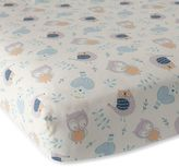 Lambs & Ivy Night Owl Fitted Crib Sheet