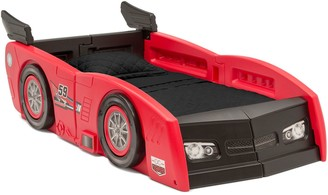 Delta Children Grand Prix Race Car Toddler & Twin Bed