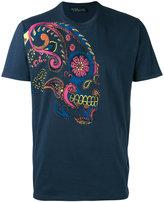 Etro skull printed T-shirt - men - Cotton - XS