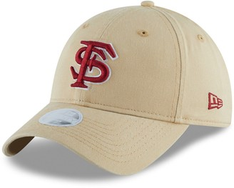 New Era Women's Gold Florida State Seminoles Team Core Classic Twill 9TWENTY Adjustable Hat