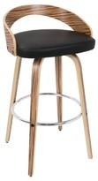 "Lumisource Grotto 30"" Barstool Wood"