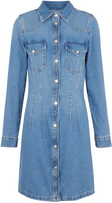New Look Denim Bodycon Shirt Dress