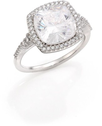 Adriana Orsini Faceted Pave Cubic Zirconia Ring