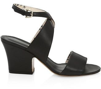 Salvatore Ferragamo Sheena Wraparound Leather Sandals