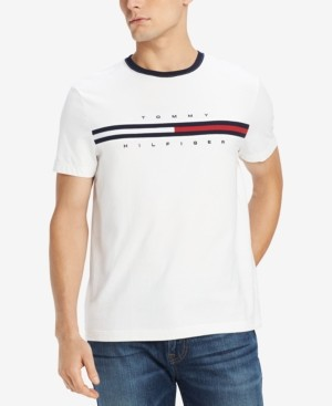 Tommy Hilfiger Men's Big & Tall Tino Logo Graphic T-Shirt, Created for Macy's