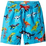 Hatley Roaring T-Rex Swim Trunks Boy's Swimwear