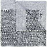 Armani Collezioni printed fringed scarf - men - Polyester/Modal/Viscose - One Size
