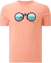 Original Penguin Search For Pete T-shirt, Coral