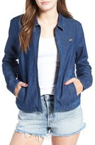 Obey Women's Hudson Zip Shirt Jacket