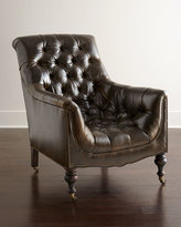 Old Hickory Tannery Tufted Moss Chair