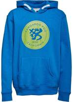 Kangaroo Poo Boys Fleece Hoody Blue
