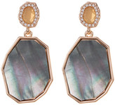 Vince Camuto CZ Double Drop Earrings