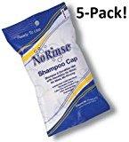 No-Rinse No Rinse Shampoo Cap (5-Pack)