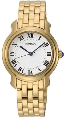 Seiko Ladies Gold Dress Watch