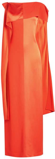 Diane von Furstenberg Dress with Bandeau Neckline