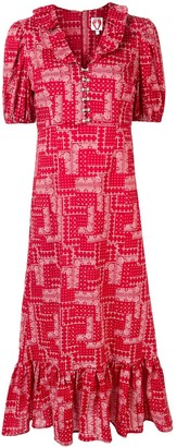 Shrimps Oakley midi dress