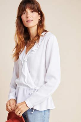 Cloth & Stone Sienna Ruffled Wrap Blouse