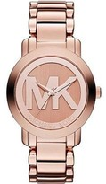 Michael Kors MK3207 Rose Gold Stainless Steel 45mm Womens Watch