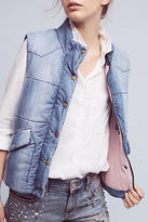 Cloth & Stone Chambray Puffer Vest