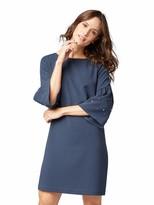 Thumbnail for your product : Tom Tailor Women's feminines Kleid mit Balloon Armeln und Perlen Dress