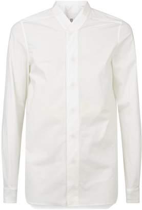 Rick Owens Stand-Collar Shirt