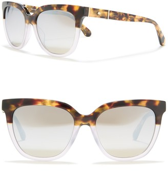 Kate Spade Kahli/s 53mm polarized retro sunglasses