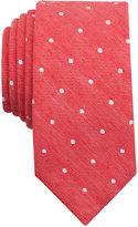 Bar III Men's Riga Dot-Print Skinny Tie, Only at Macy's