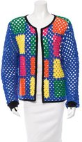 Mira Mikati Wool Crochet Cardigan w/ Tags