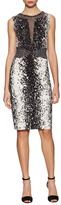 Diane von Furstenberg Ilsie Silk Printed Sheath Dress
