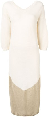 Lorena Antoniazzi long knitted Dress