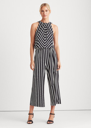 Ralph Lauren Striped Jersey Jumpsuit