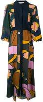 Roksanda mixed print shirt dress