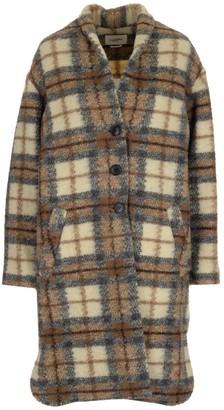 Etoile Isabel Marant Gabriel Checked Coat